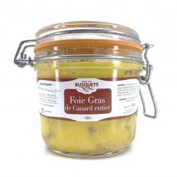Foie gras de canard entier bocal 320 grs