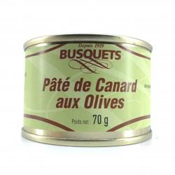 Pâté de canard aux olives 70 grs