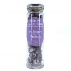 Berlingots saveur violette 120 grs