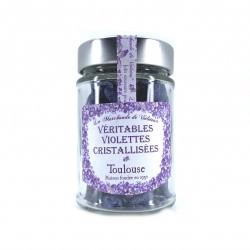 Violettes cristallisées bocal 80 grs