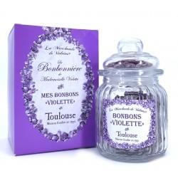 La bonbonnière bonbons à la violette 160 grs
