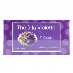 Thé noir à la violette 24 sachets