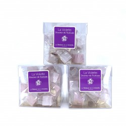 Nougat à la violette 100 grs