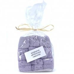 Guimauve artisanale à la violette 100 grs