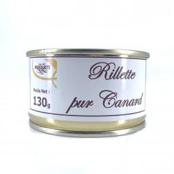 Rillette pur canard conserve 130 grs