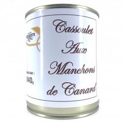 Cassoulet aux manchons de canard 840 grs